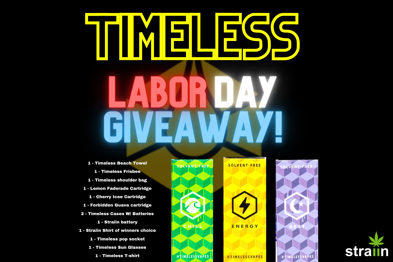 timeless labor day giveaway